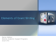 screencapture of a powerpoint presentation on writing and organization